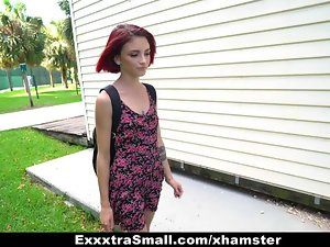 ExxxtraSmall - Kitty Girl Pounded coupled with Fucked