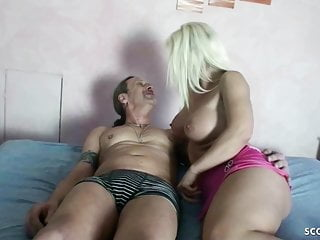 24CM Load of shit USER FUCK GERMAN MILF Plus CREAMPIE Around HER PUSSY