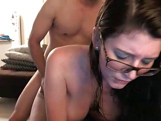 Whelp With Glasses Loves anal