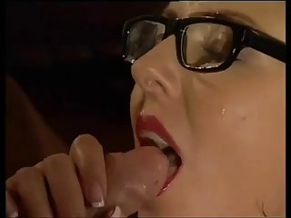 Glasses stockings mainly a greatly fucked murky BB