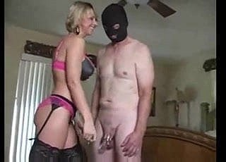 Wife Pulverize His Cuckold Husband