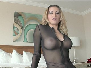 Saleable Moore Castratrix FEMDOM POV CATSUIT HEELS JOI