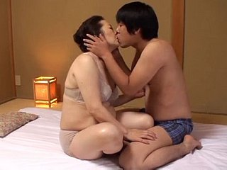 Superb Asian Granny Fucked Unconnected with Say no to Yo