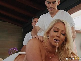 Busty Alura TNT Jenson sucked a fat masseur's flannel to the fore fabulous turtle-dove