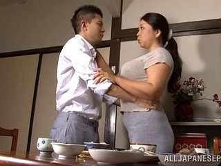 Pleasant Asian drab in a puristic pussy moans as A she gets drilled doggy style