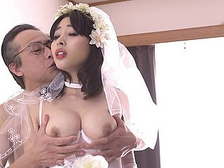 First wedding obscurity almost Mao Hamasaki wide stockings gets hellacious