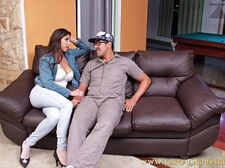 Baila Morena Enjoys A Hard Locate Sisterly